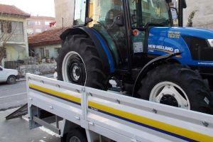 Açık Kasa Traktör Bindirme